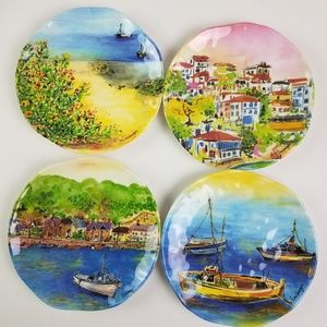 Summer in Italy Outdoor Plates